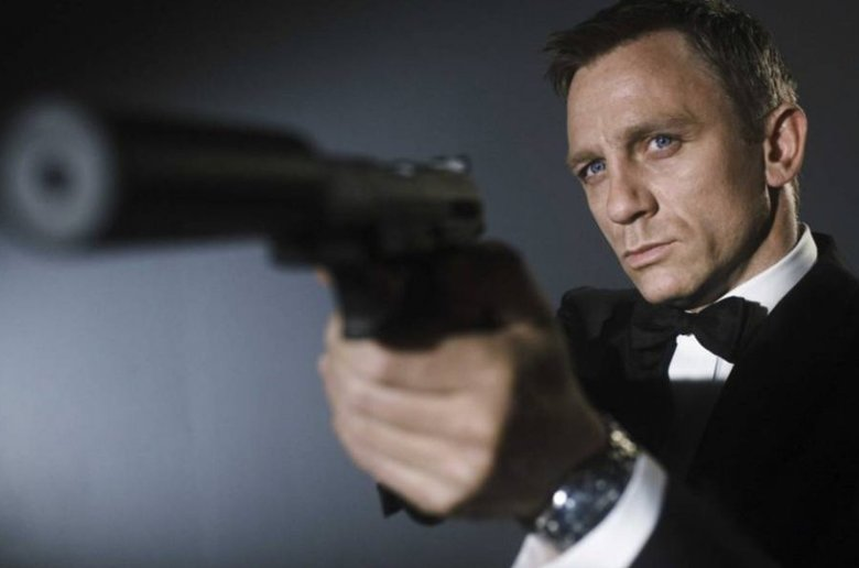 Daniel Craig. James Bond