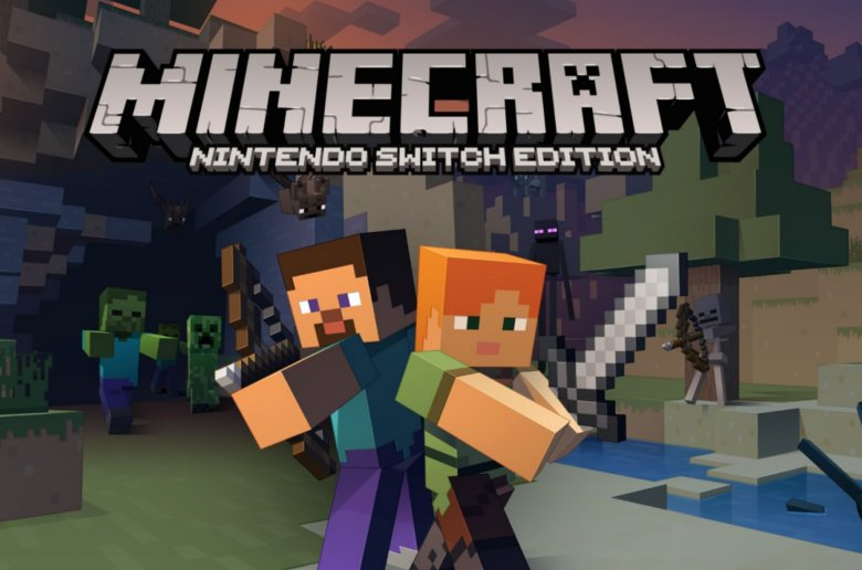 Minecraft. Nintendo Switch Edition. Microsoft