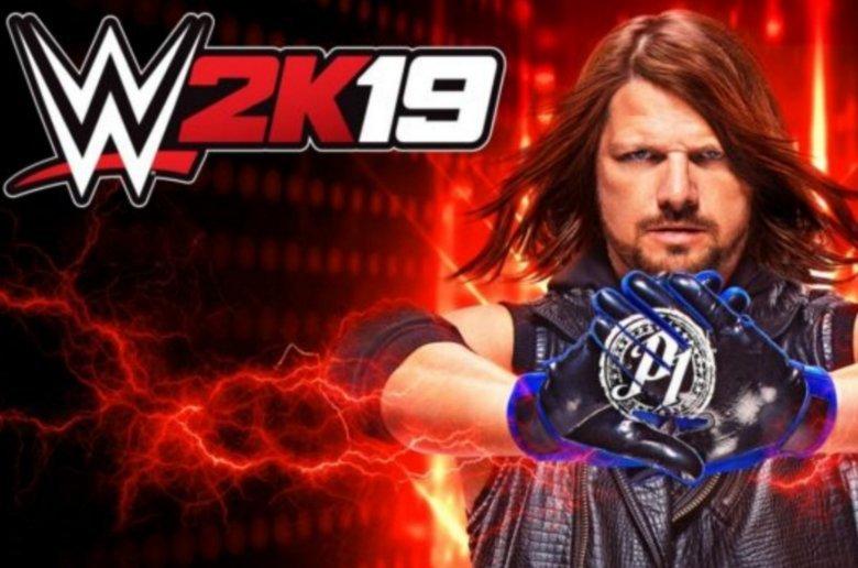 AJ Styles, protagonista de la portada de WWE 2K19