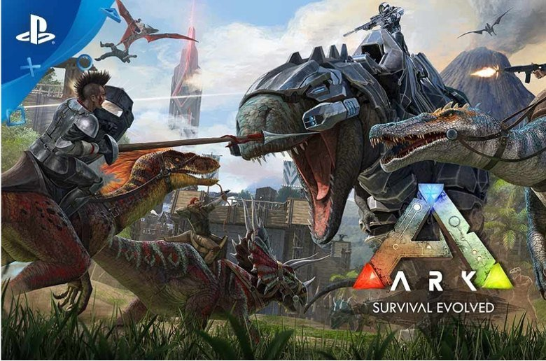 Ark Survival Evolved. PlayStation 4