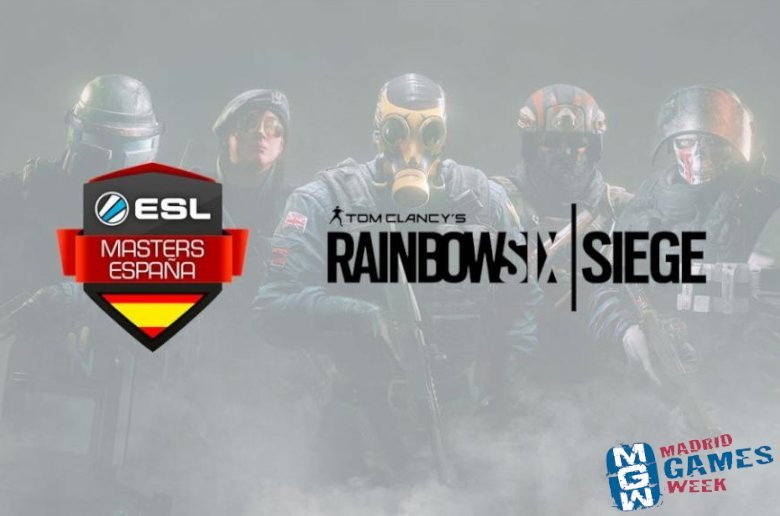 ESL Masters Rainbow Six. Madrid Games Week 2018