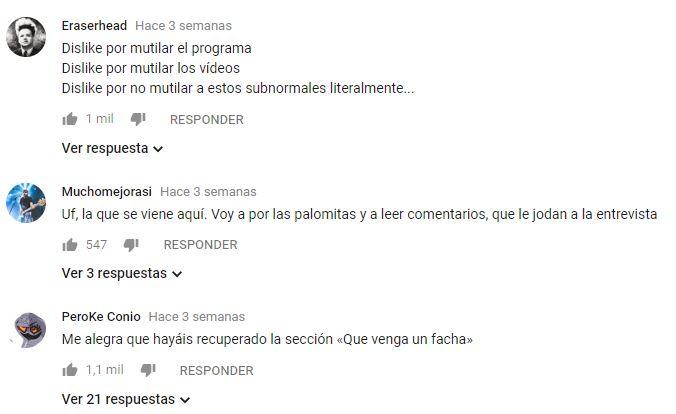 Comentarios Taburete