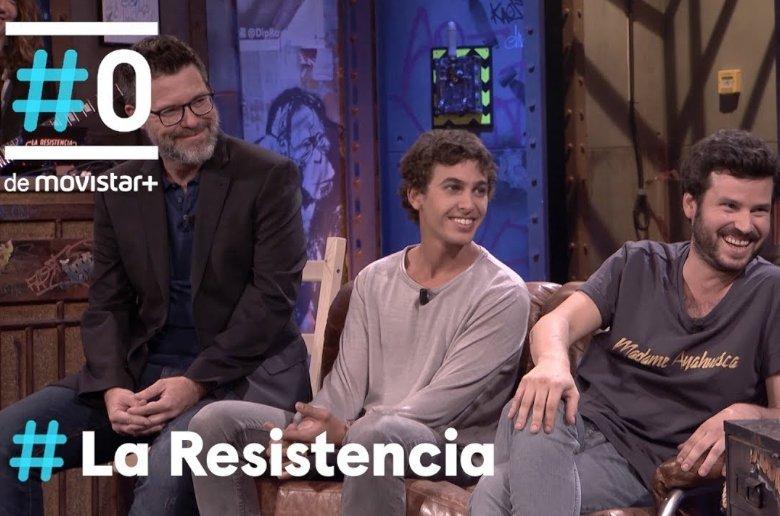 Taburete en La Resistencia. David Broncano. Movistar+