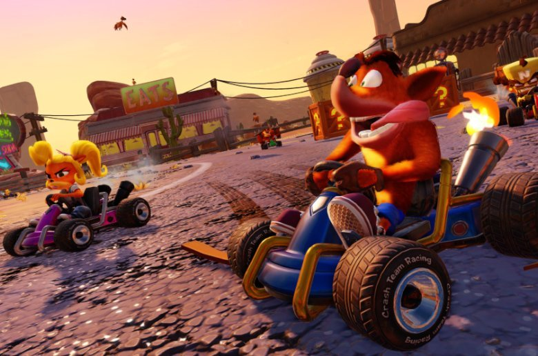 Crash Team Racing. Remasterizado 2019