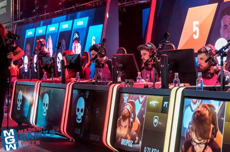 Madrid Games Week 2019. eSports