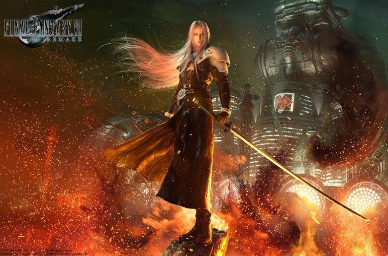 Final Fantasy VII Remake. MGW