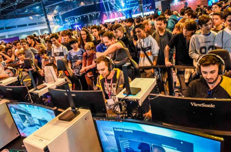 Madrid Games Week 2019. eSports