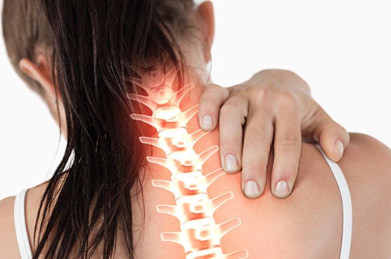 Dolor de cuello. Contracturas