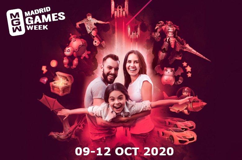 Madrid Games Week 2020. Fecha. Videojuegos