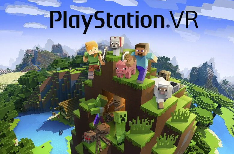 Minecraft en PlaySation VR (PSVR)