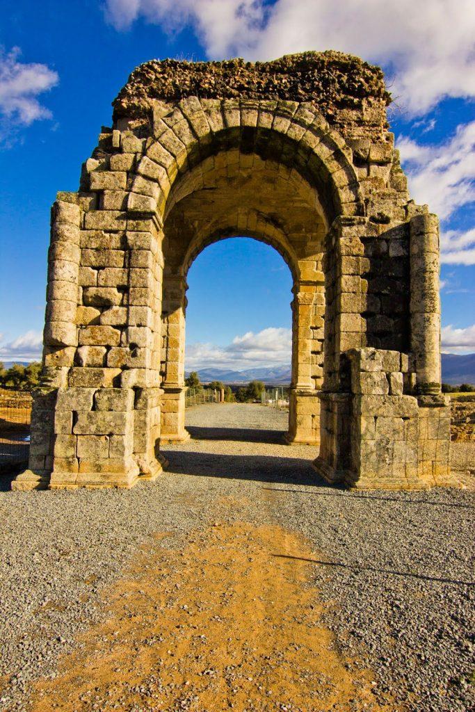 Arco de Caparra. Ciudad romana perdida en Caceres