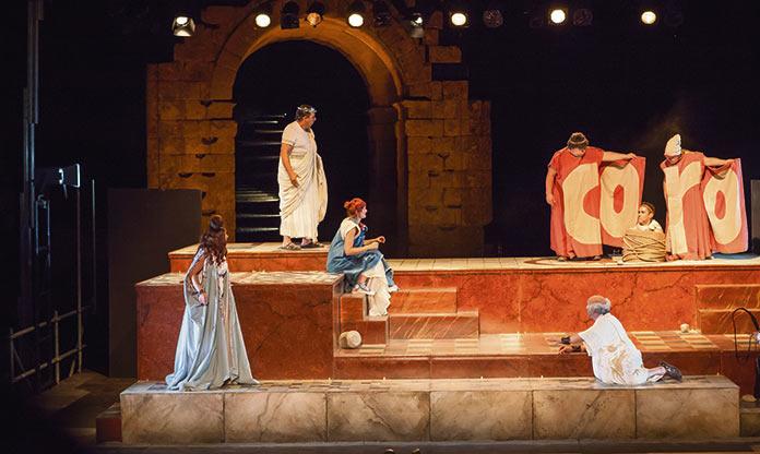 Teatro Clasico de Merida en Caparra