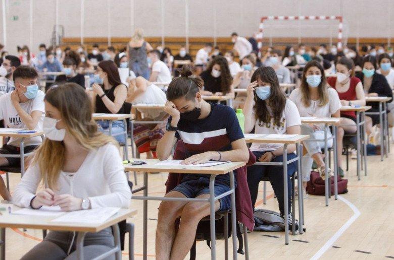 Estudiantes EVAU. Selectividad