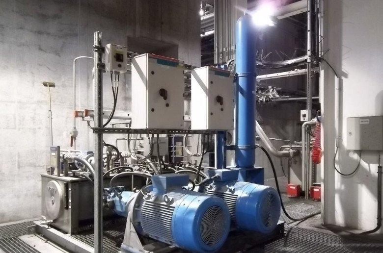 Acumulador hidraulico